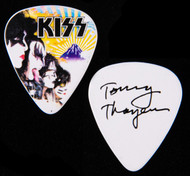 KISS Guitar Pick -  Mt Fuji Japan, Tommy.