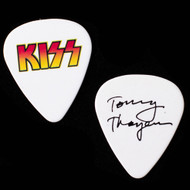 KISS Guitar Pick - Alive 35, Fade Logo, (no tour logo), Tommy
