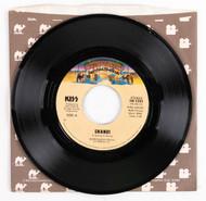 KISS 45 RPM Vinyl - Shandi/She's So European, (Casablanca sleeve)