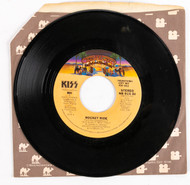 KISS 45 RPM Vinyl - Rocket Ride/Rocket Ride PROMO DJ, (Casablanca sleeve)