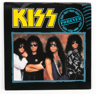 KISS 45 RPM Vinyl - Forever/The Street Giveth, U.K., (Picture sleeve)
