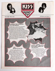 KISS Army Newsletter - Volume Two, NO.1, Spring 1977