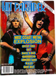 KISS Magazine - Hit Parader March 1985, West Coast Metal Explosion