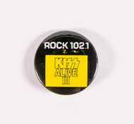 KISS Button - Rock 102.1 KISS Alive III