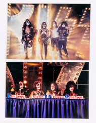 "KISS Photos - Intrepid Press Conference 1996, 5"" x 7"", (set of 2)"