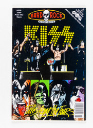KISS Comic - KISS tales from the tours, 1992.