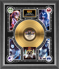 KISS Gold Record - KISS Love Gun Photo Montage