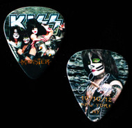 KISS Guitar Pick - Monster New York, 10/11/2012, Eric, (version 1, small portrait).