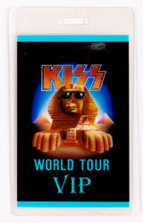 KISS Backstage Pass - Hot in the Shade World Tour VIP, laminate