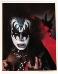 KISS Photo - from KISS Army Fan Club packet, KA10