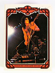 KISS Trading Cards - Donruss 1978 Full Set - Series 1, (MINT).