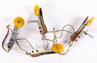 KISS Pinball Machine Parts 1978 - Yellow Targets, (set of 4)