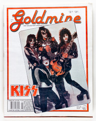 KISS Magazine - Goldmine 1990.