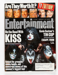KISS Magazine - Entertainment Weekly, August 1996.