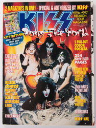 KISS Magazine - KISS Rocks the World.