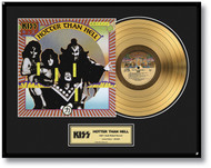 KISS Gold Record - Hotter Than Hell LP.