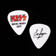KISS Guitar Pick - KISS Rocks Vegas, Flames Logo, Eric.
