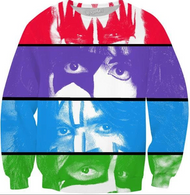 KISS Sweat Shirt - Color Eyes - INCREDIBLE SALE PRICE!!!, (size M only)