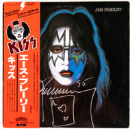 "KISS Autograph - Ace Solo 12"" Vinyl Album, JAPAN w/Obi Strip"