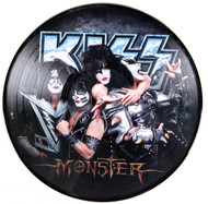 "KISS Vinyl Record LP - Monster 12"" PICTURE DISC, (open)"