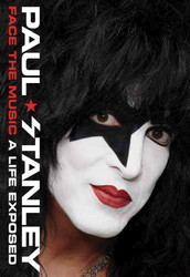 KISS Book - Paul Stanley, Face the Music, (hard cover).
