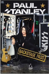 KISS Book - Paul Stanley, Backstage Pass, (hard cover)