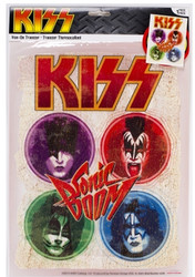KISS Iron On - Sonic Boom..