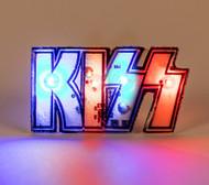KISS Pin - Flashing Electronic L.E.D. Logo.