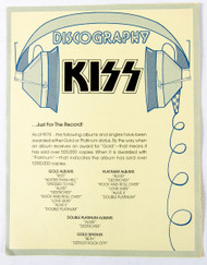 KISS Army Fan Club Kit Discography - Solo Albums 1978