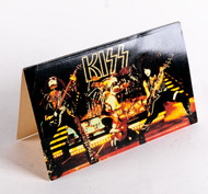 KISS Tent Card -  from 1977 Fan Club Packet..