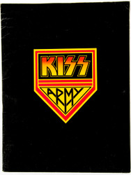 KISS Army Fan Club Kit Folder - Love Gun 1977