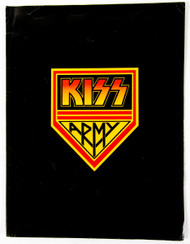 KISS Army Fan Club Kit Folder - Alive! 1975