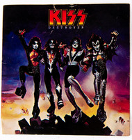 KISS Army Fan Club Kit Sticker - Destroyer, (large)