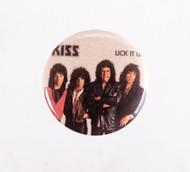 KISS Button - Lick It Up, album cover..
