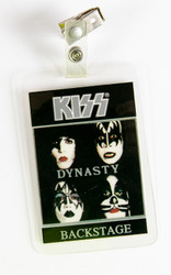 KISS Backstage Pass - Dynasty Laminate, (reproduction)