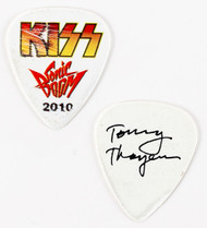 KISS Guitar Pick - Psycho Circus, stage-used, Tommy