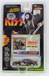 KISS Johnny Lightning Car - Stock Car, Paul Stanley #49