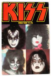 KISS Tourbook - Alive II version, 1977 (8/10)