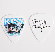 KISS Guitar Pick - The Tour, group photo Tommy.