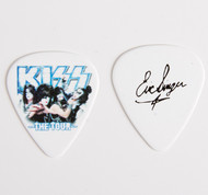 KISS Guitar Pick - The Tour, group photo Eric.