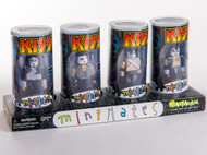 KISS Mini Mates set of 4, (set in tubes).