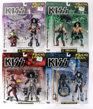 KISS McFarlane Figures - Psycho Circus set, (Near MINT).