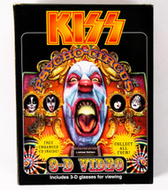 KISS 3-D Psycho Circus Video w/CD single - Gene (SEALED, MINT)