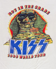 KISS T-Shirt - Hot in the Shade 1990 World Tour, white, (size XL)