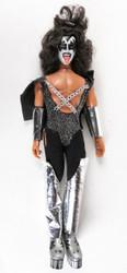 KISS Mego Doll Figure '78 - Gene Simmons, no box, broken leg