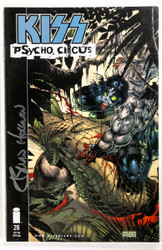 KISS Comic - Psycho Circus #26, Signed by the Artist