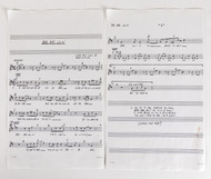 KISS Office Paperwork - Bad Bad Lovin', sheet music
