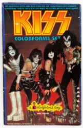 KISS Colorforms set, 1978  (complete, 7/10)