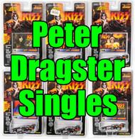 KISS Johnny Lightning Cars - Dragster SINGLES, Peter