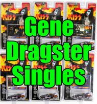 KISS Johnny Lightning Cars - Dragster SINGLES, Gene